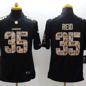 Men's San Francisco 49ers #35 Reid Jersey